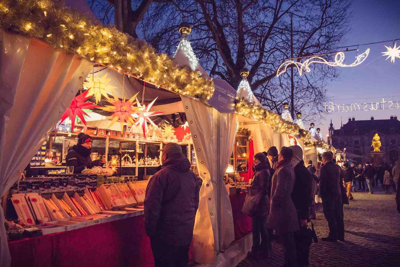 Weihnachtsmarkt Augustusmarkt Dresden