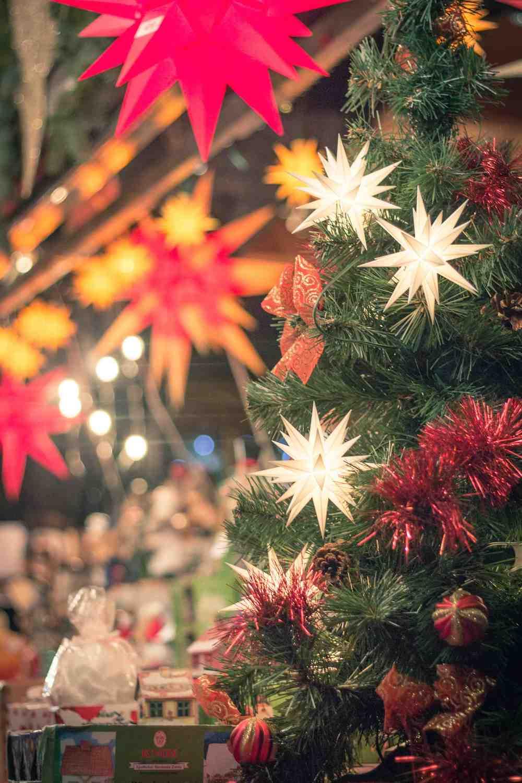 Weihnachtsmarkt Dresden Herrnhuter Sterne