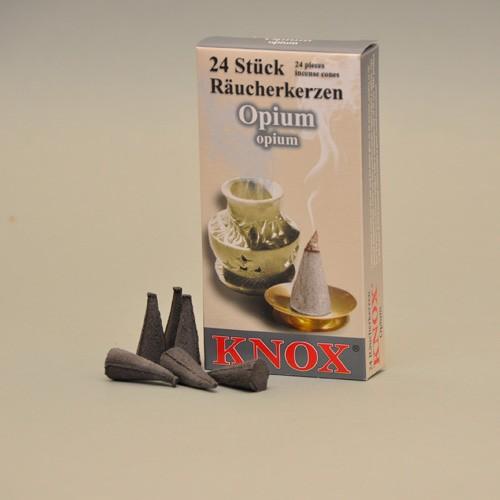 KNOX Räucherkerzen Opium 24 St. / Pkg.