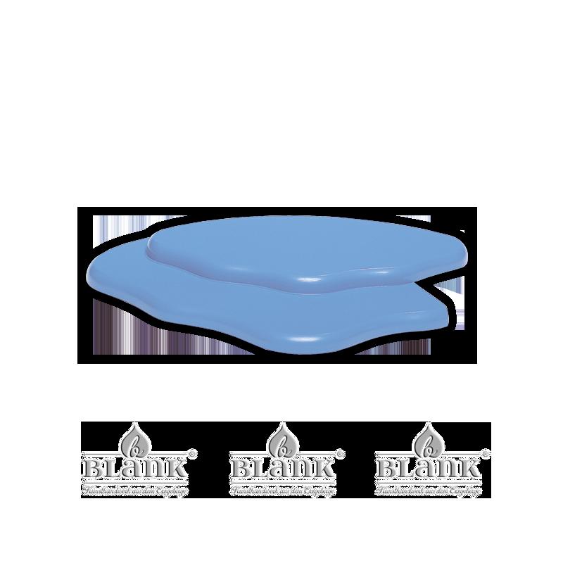 Blank - Wolkenerweiterung für 3 Etagenwolke farbig links