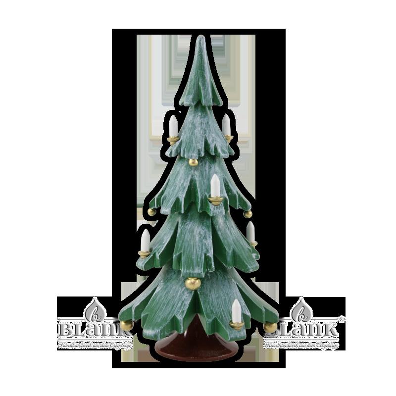 Blank - Weihnachtsbaum farbig