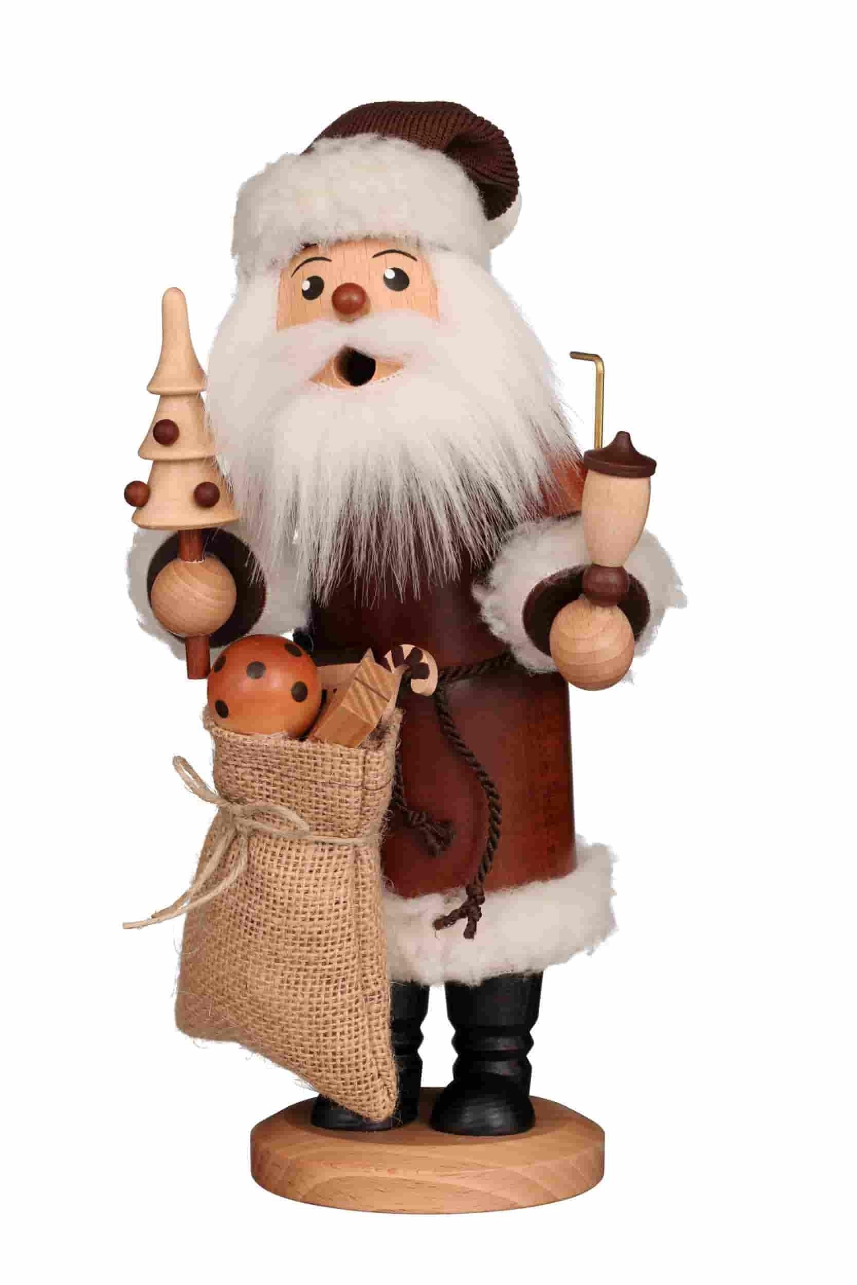 Christian Ulbricht - Räuchermann Weihnachtsmann natur