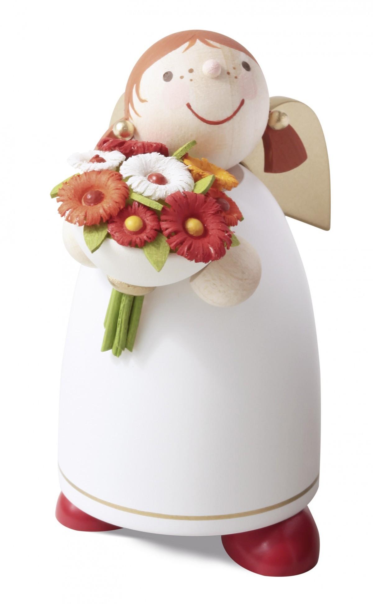 Günter Reichel - Schutzengel mit Blumenstrauß