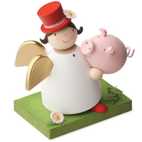 Günter Reichel - Schutzengel mit Glücksschwein