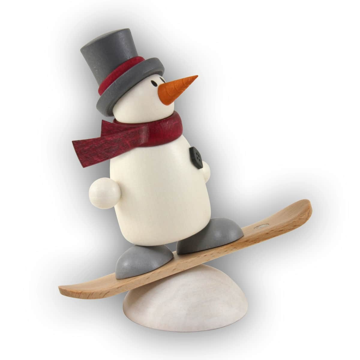 Hobler - Schneemann Fritz mit Snowboard