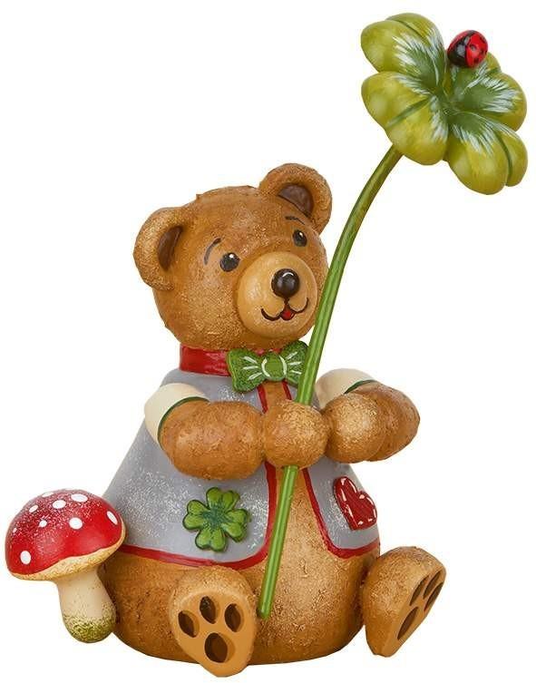 Hubrig Volkskunst - Hubiduu - Teddy mit Herz - Glücksbärli