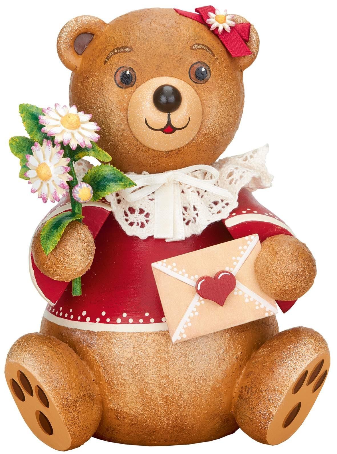 Hubrig Volkskunst - Hubiduu - Teddy mit Herz - Herzenssache