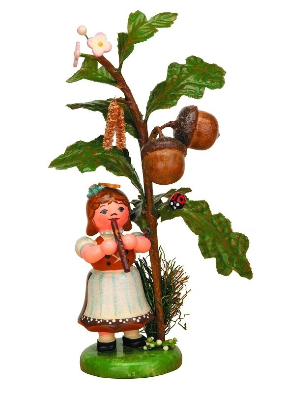 Hubrig Volkskunst - Herbstkinder - Eichel 13cm