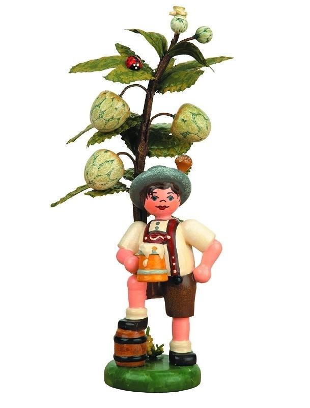 Hubrig Volkskunst - Herbstkinder - Hopfen 13cm