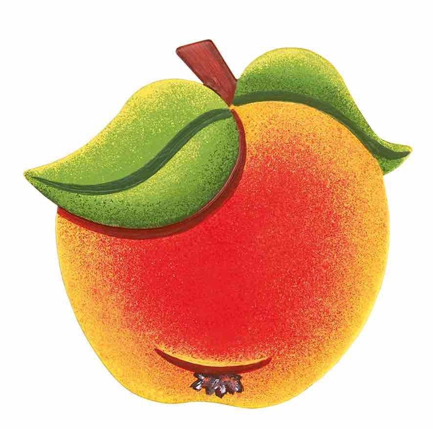 Hubrig Volkskunst - Magnetpin Apfel