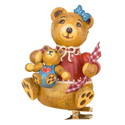 Hubrig Volkskunst - Baumbehang und Baumclipser - Teddy Anni´s Ollibär