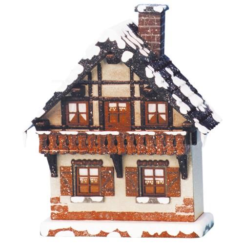 Hubrig - Winterkinder - Balkon - elektrisch beleuchtbar