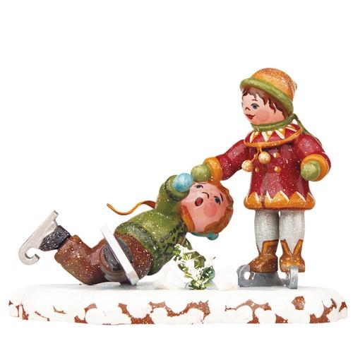 Hubrig - Winterkinder - Schlittschuhläufer
