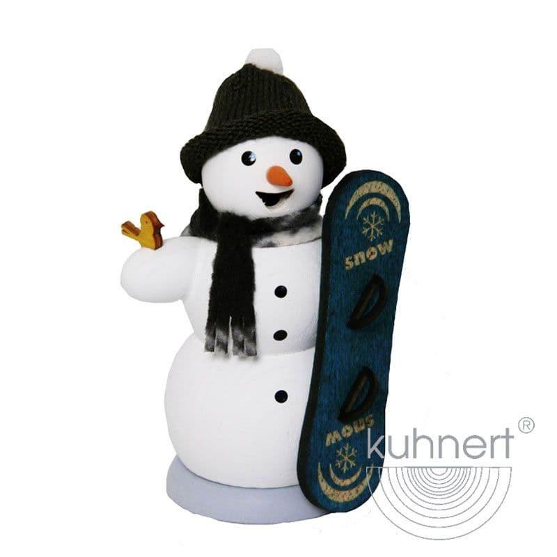 Kuhnert - Schneemann mit Snowboard