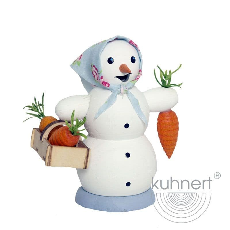 Kuhnert - Schneemann mit Möhrenkorb