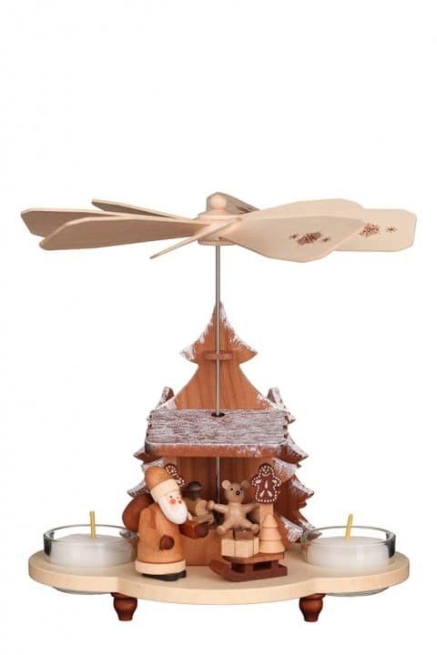 Christian Ulbricht - Pyramide Weihnachtsmann auf Striezelmarkt natur