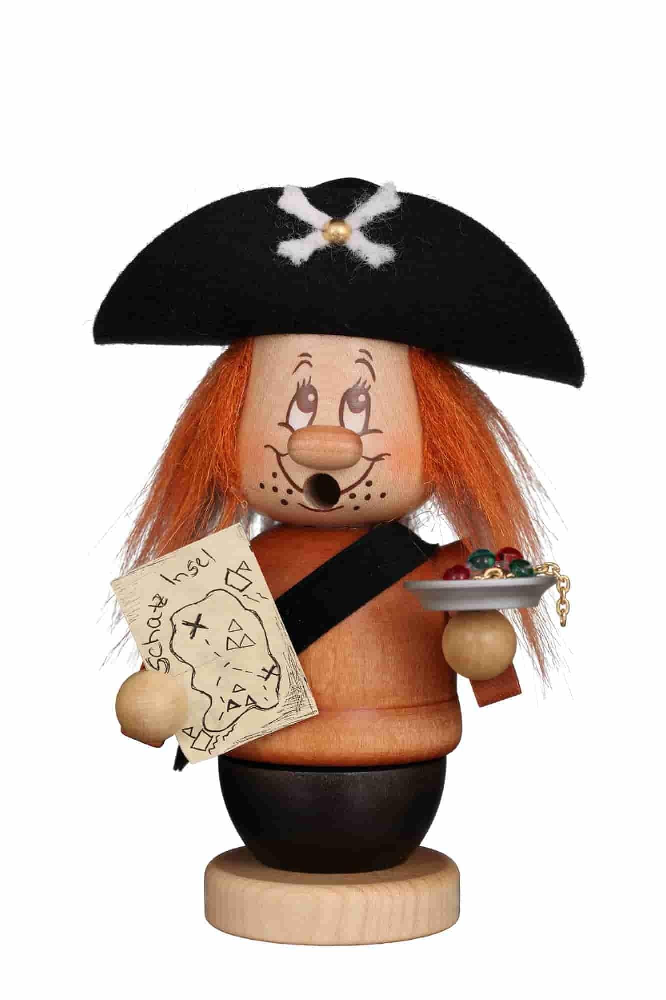 Christian Ulbricht - Räuchermann Miniwichtel Pirat