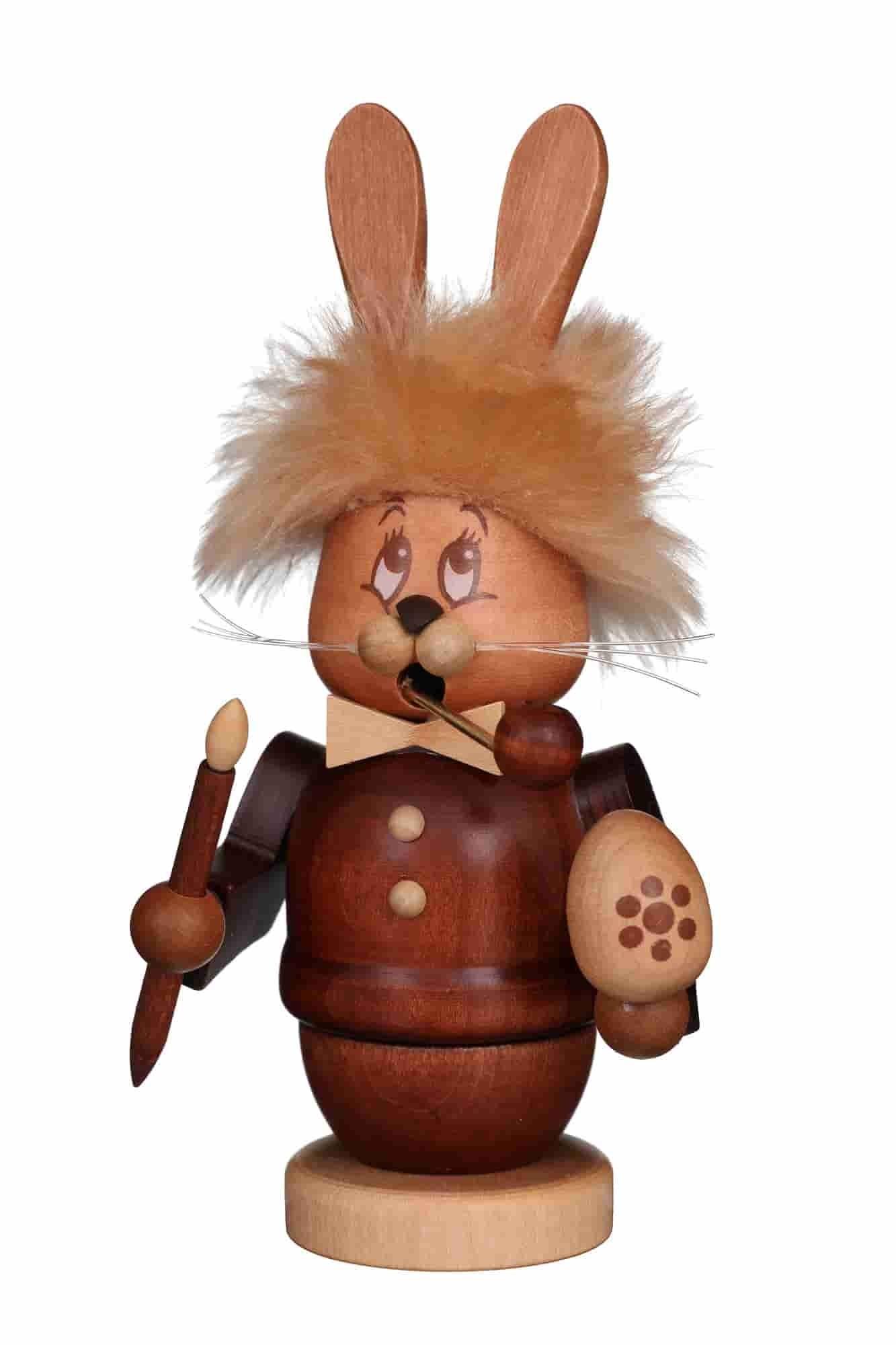 Christian Ulbricht - Räucherfigur Miniwichtel Hase