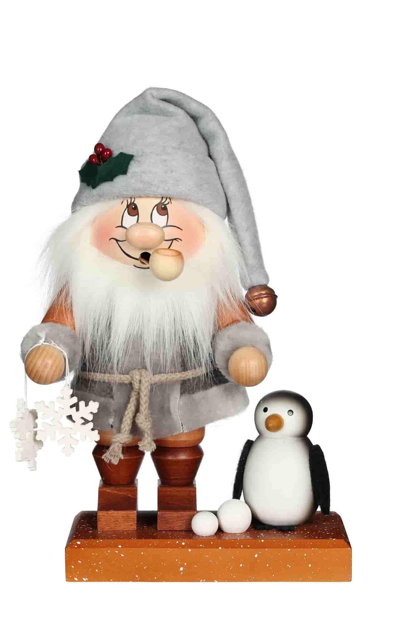 Christian Ulbricht - Räuchermann Wichtel Nordpol Santa