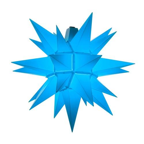 Original Herrnhuter Stern für außen ø ca. 40 cm blau (A4)