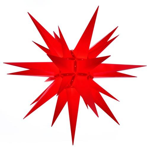 Original Herrnhuter Stern für außen ø ca. 130 cm rot (A13)