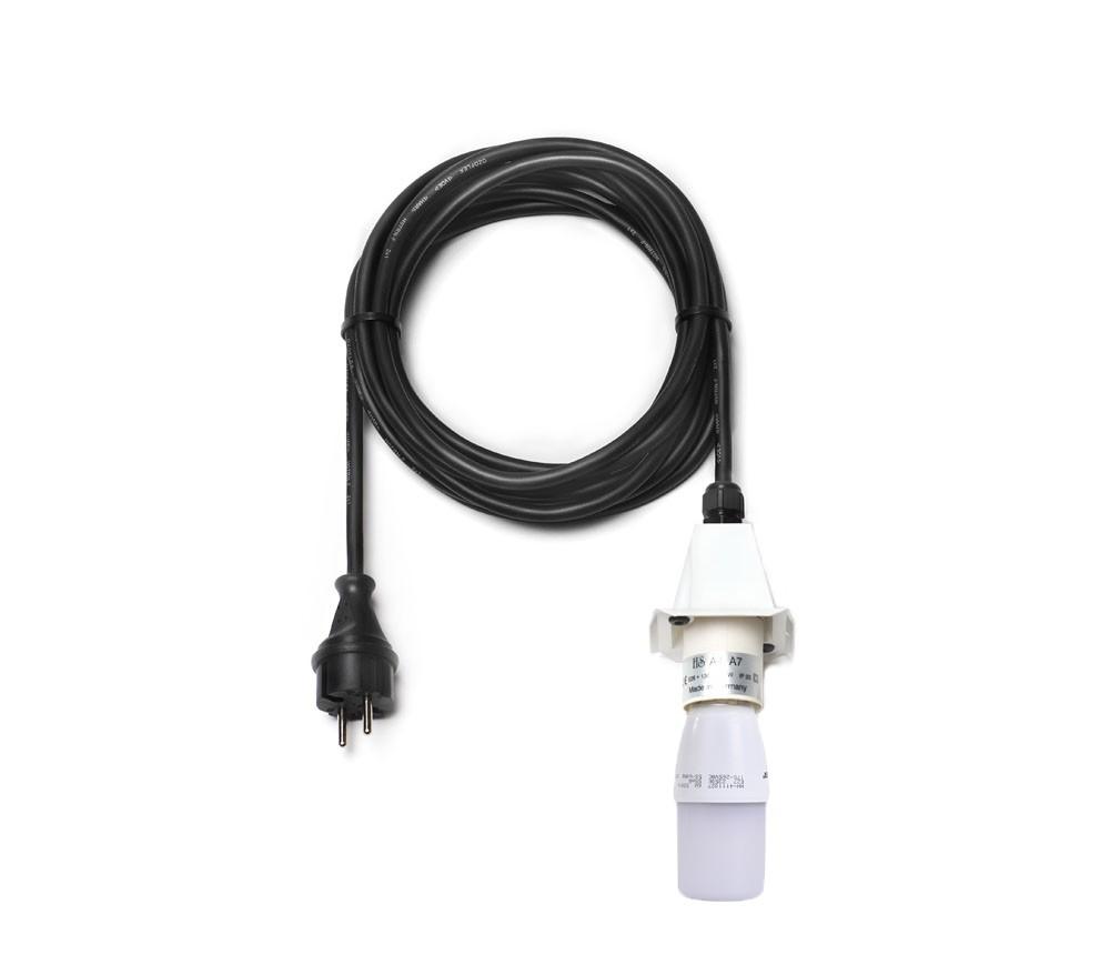 5 m Kabel für weiße Herrnhuter Sterne aus Kunststoff (A4/A7) inkl. LED