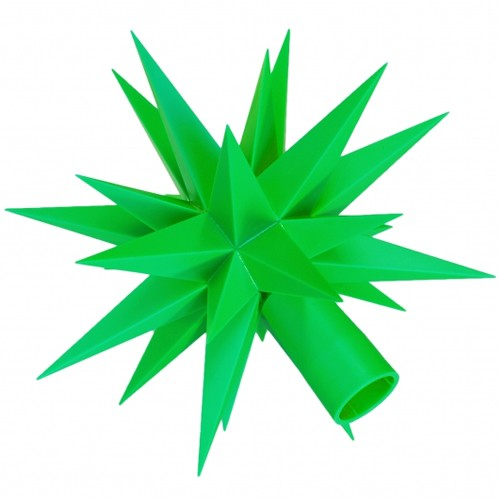 Ersatz-Stern für Herrnhuter Sternenketten (A1s) grün