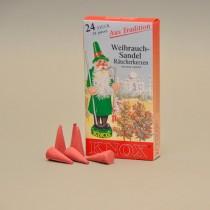 KNOX Räucherkerzen Weihrauch-Sandel 24 St. / Pkg.