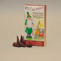 KNOX Räucherkerzen Weihnachtsduft 24 St. / Pkg.