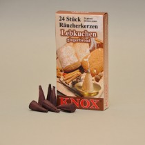 KNOX Räucherkerzen Lebkuchen 24 St. / Pkg.