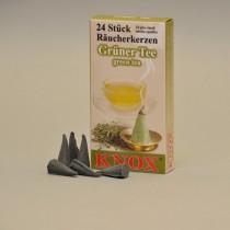 KNOX Räucherkerzen Grüner Tee 24 St. / Pkg.