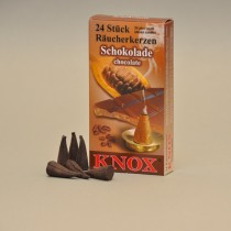 KNOX Räucherkerzen Schokolade 24 St. / Pkg.