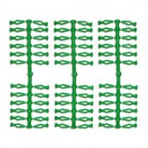 72 Stück Ersatzklammern für Original Herrnhuter Sterne aus Kunststoff (A4 und A7) in grün