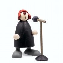 Köhler - Frollein S. am Mikrofon