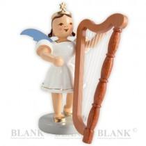 Blank - Kurzrockengel farbig mit Harfe