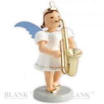 Blank - Kurzrockengel farbig mit Saxophon