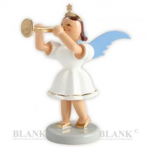 Blank - Kurzrockengel farbig mit Trompete