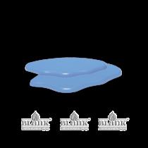Blank - Wolkenerweiterung für 3 Etagenwolke farbig rechts