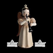 Blank - Faltenlangrockengel mit Klarinette