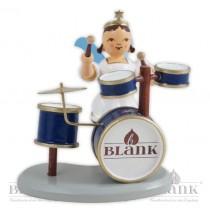 Blank - Kurzrockengel farbig mit Schlagzeug