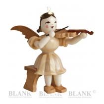 Blank - Kurzrockengel mit Violine sitzend