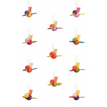 Christian Ulbricht - Baumbehang Flugvogel klein 12-teilig