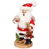 DWU - Räuchermann Weihnachtsmann mit Geschenke, 25cm