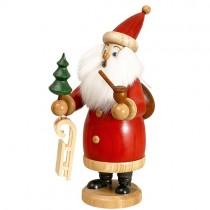 DWU - Räuchermann Weihnachtsmann, rot, 20cm