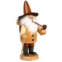 DWU - Räuchermann Wichtel Holzsammler natur, 19cm