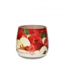 "Duftkerze im Glas ""Christmas Spices"" Zimt und Apfel"