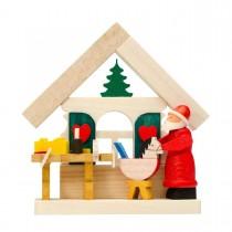 Graupner - Haus Weihnachtsmann als Baumschmuck mit Werkstatt