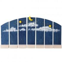 Günter Reichel - Hintergrund Nachthimmel