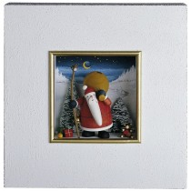 Günter Reichel - Wandbild Weihnachtsmann