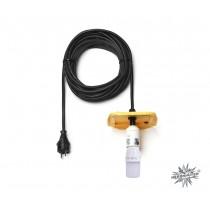 10 m Kabel für gelbe Herrnhuter Sterne aus Kunststoff (A13) inkl. LED